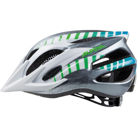 Alpina FB 2.0 Flash Helmet Kids white-steelgrey-gradient